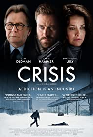 Gary Oldman, Evangeline Lilly, and Armie Hammer in Crisis (2021)