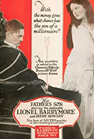 Lionel Barrymore in His Father's Son (1917)