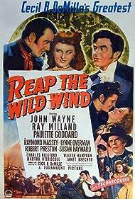 John Wayne, Susan Hayward, Ray Milland, Paulette Goddard, Raymond Massey, Lynne Overman, and Robert Preston in Reap the Wild Wind (1942)