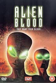 Alien Blood Poster