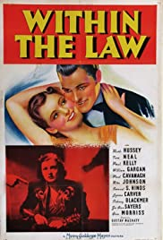 Within the Law (1939) Poster - Movie Forum, Cast, Reviews