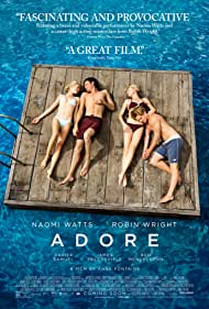 Robin Wright, Naomi Watts, Xavier Samuel, and James Frecheville in Adoration (2013)