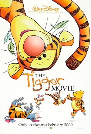 The Tigger Movie Poster Image