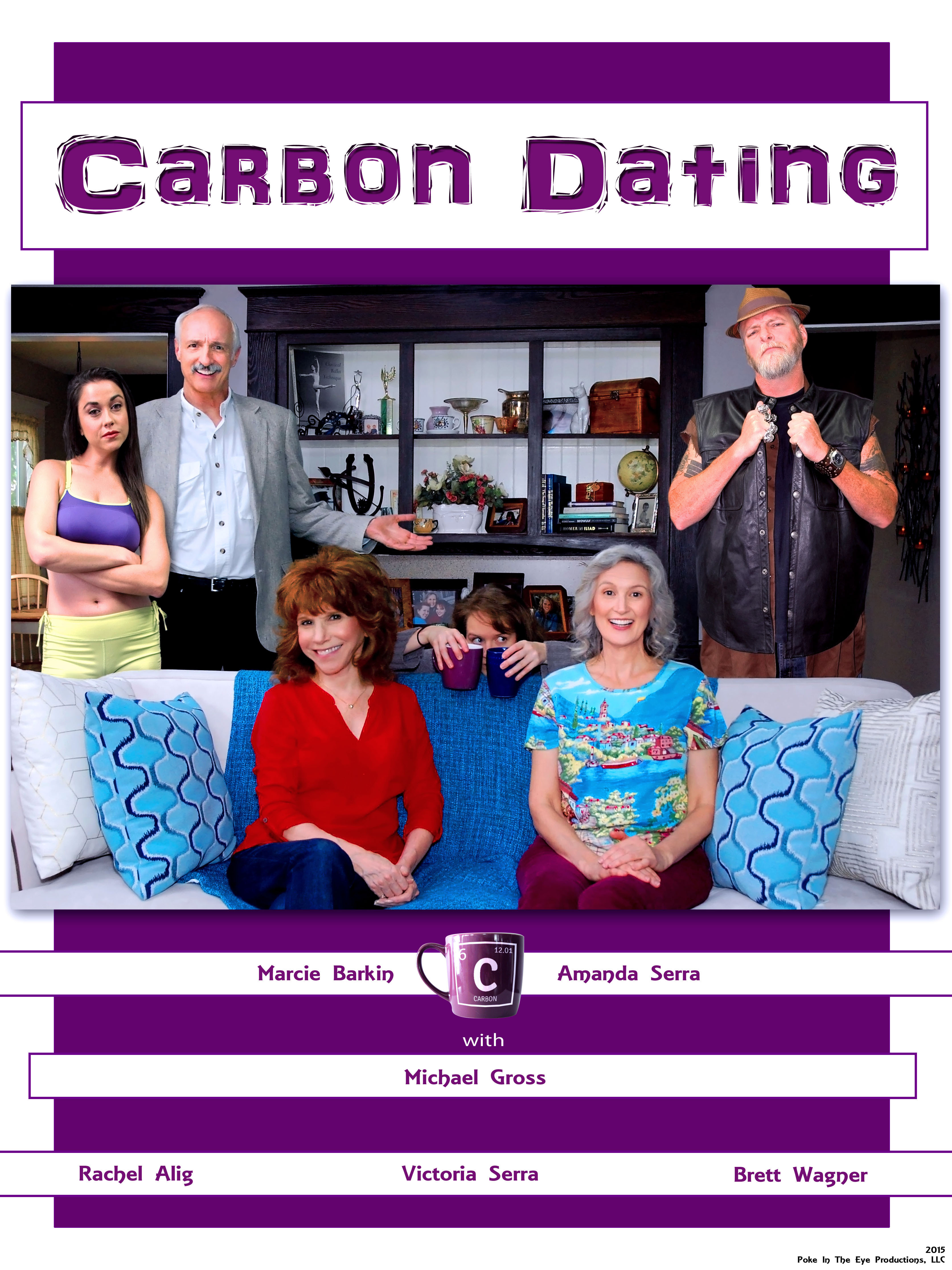 Marcie Barkin, Michael Gross, and Amanda Serra in Carbon Dating (2015)
