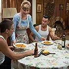 Glenne Headly, Tony Danza, Joseph Gordon-Levitt, and Brie Larson in Don Jon (2013)