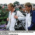 Paul Bettany and Nikolaj Coster-Waldau in Wimbledon (2004)
