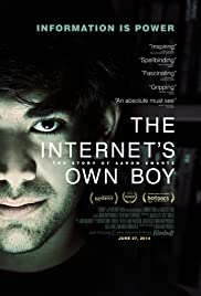 The Internet's Own Boy: The Story of Aaron Swartz Poster