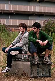 Richard Madden and Andrew Hawley in Strays (2011)