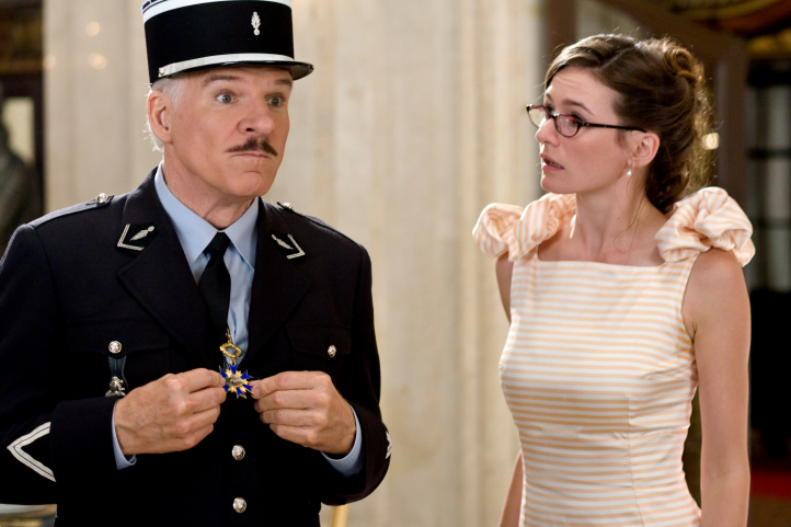 Steve Martin and Emily Mortimer in The Pink Panther 2 (2009)