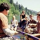 Rory Culkin, Ryan Kelley, Trevor Morgan, Josh Peck, and Scott Mechlowicz in Mean Creek (2004)