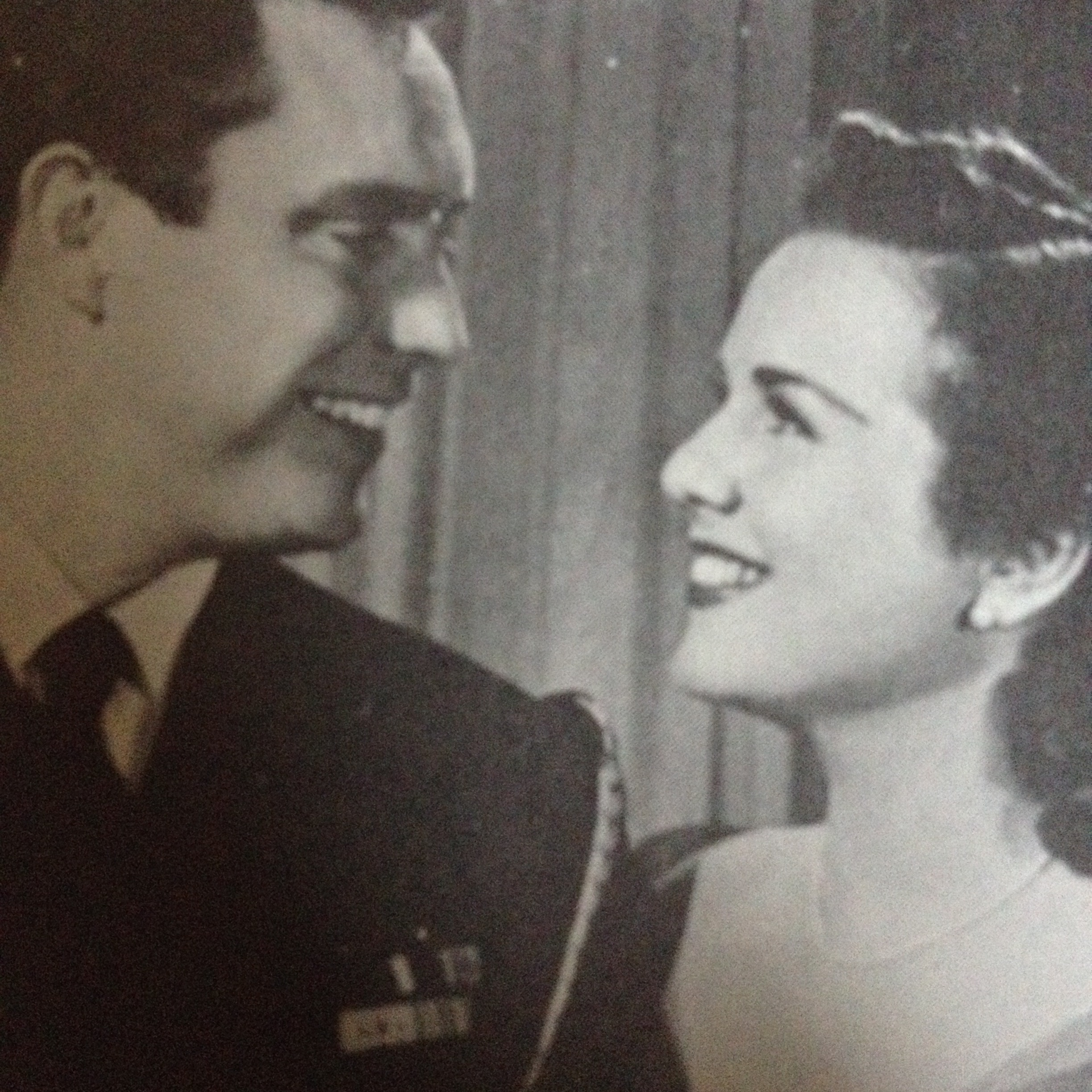 Deanna Durbin and Edmond O'Brien in For the Love of Mary (1948)