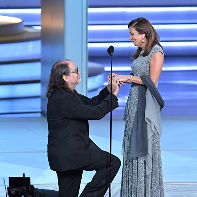 Glenn Weiss and Jan Svendsen at an event for The 70th Primetime Emmy Awards (2018)