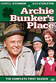 Martin Balsam, Carroll O'Connor, Danielle Brisebois, and Jean Stapleton in Archie Bunker's Place (1979)