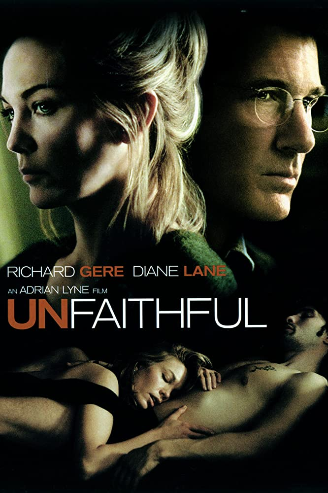 18+ Unfaithful (2002) English Unrated 720p BRRip x264 Esubs