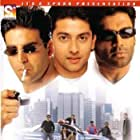 Aftab Shivdasani, Akshay Kumar, and Suniel Shetty in Awara Paagal Deewana (2002)