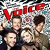Alicia Keys, Miley Cyrus, Blake Shelton, and Adam Levine in The Voice (2011)