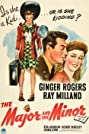 The Major and the Minor (1942) Poster