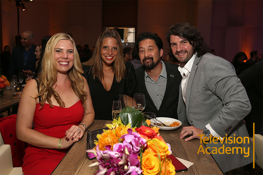 Lindsay Liles, Sophia Noronha, Kent Matsuoka, and Christopher Celona at the 2019 Producers Nominee Reception on Thursday, September 19, 2019 at 1 Hotel West Hollywood in West Hollywood, California.