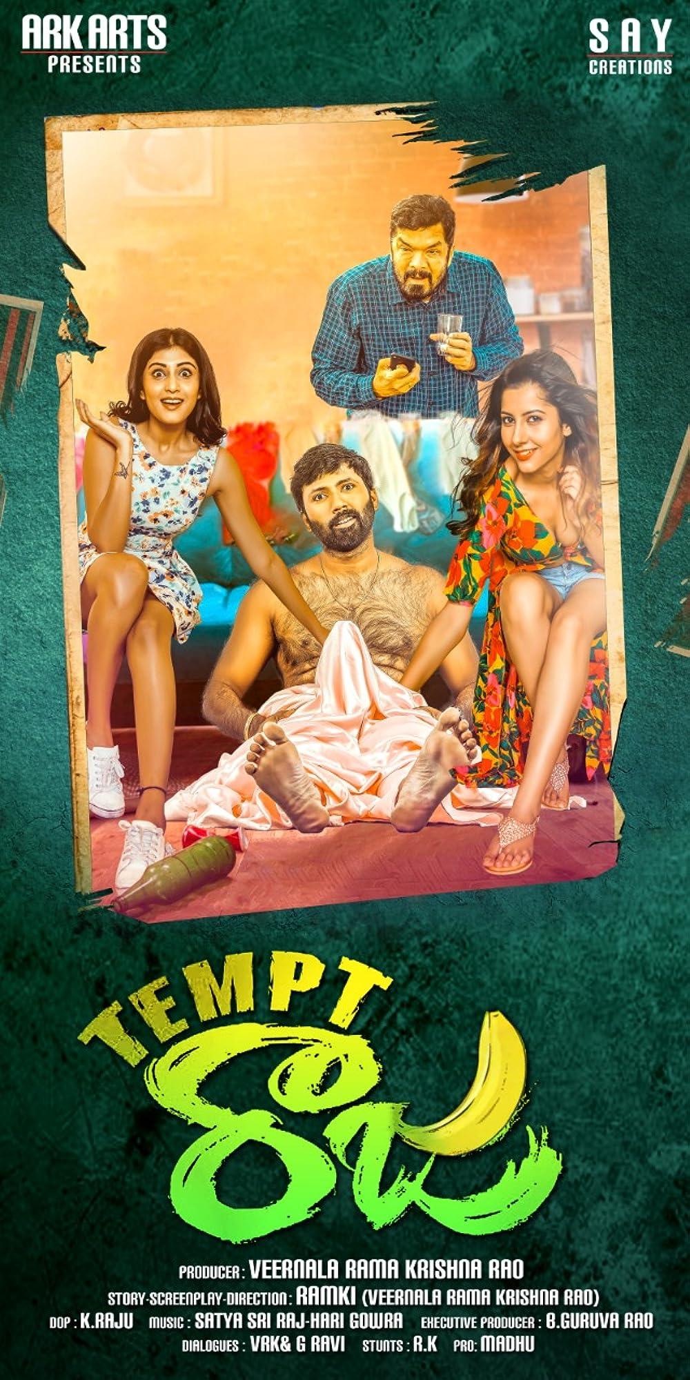 Tempt Raja 2021 ORG Hindi Dubbed 480p HDRip 303MB Download