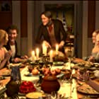 Jim Carrey, Colin Firth, Jacquie Barnbrook, Sonje Fortag, and Steve Valentine in A Christmas Carol (2009)