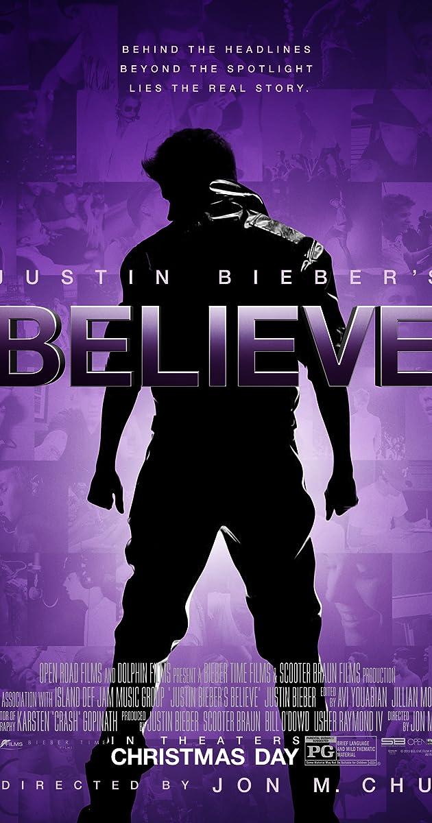 Subtitle of Justin Bieber's Believe