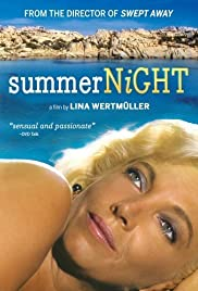 Summer Night with Greek Profile, Almond Eyes and Scent of Basil Poster