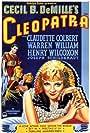 Claudette Colbert, Henry Wilcoxon, and Warren William in Cleopatra (1934)