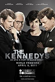 Greg Kinnear, Barry Pepper, Katie Holmes, and Tom Wilkinson in The Kennedys (2011)