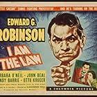 Edward G. Robinson and Barbara O'Neil in I Am the Law (1938)