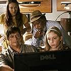 Morgan Freeman, Harry Connick Jr., Nathan Gamble, Austin Highsmith Garces, and Cozi Zuehlsdorff in Dolphin Tale (2011)