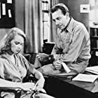 Paul Henreid and Anne Francis in So Young, So Bad (1950)