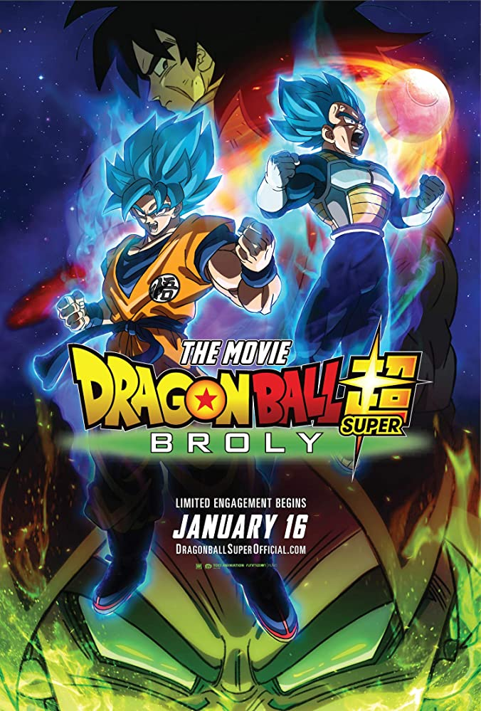 Poster Dragon Ball Super: Broly (2018)