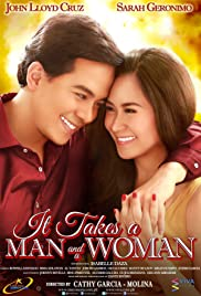 It Takes a Man and a Woman Poster
