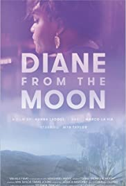 Diane from the Moon Poster
