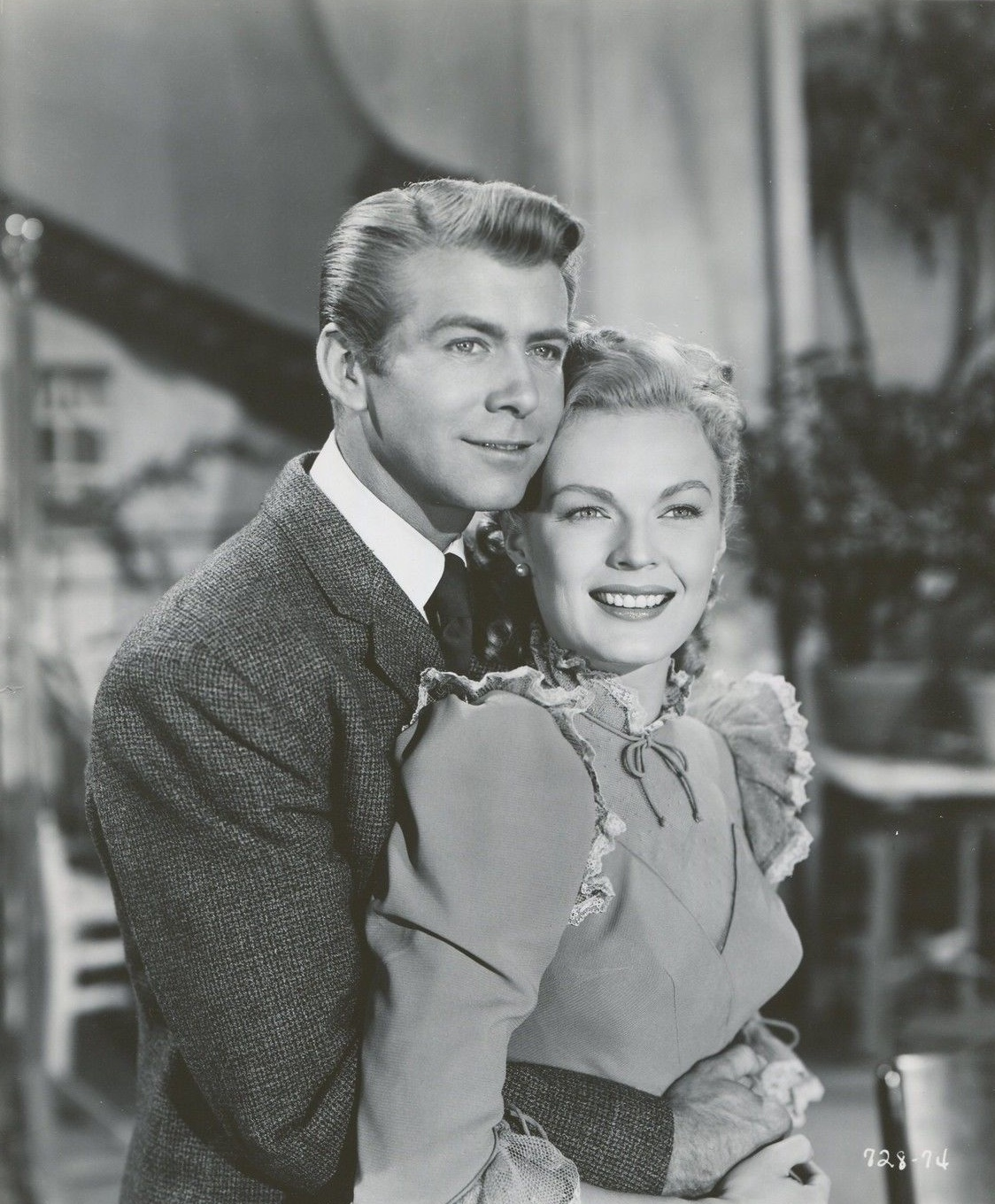June Haver and Gene Nelson in The Daughter of Rosie O'Grady (1950)