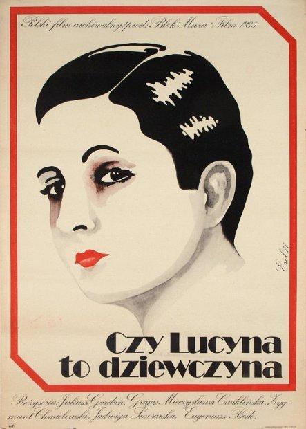 Czy Lucyna To Dziewczyna 1934