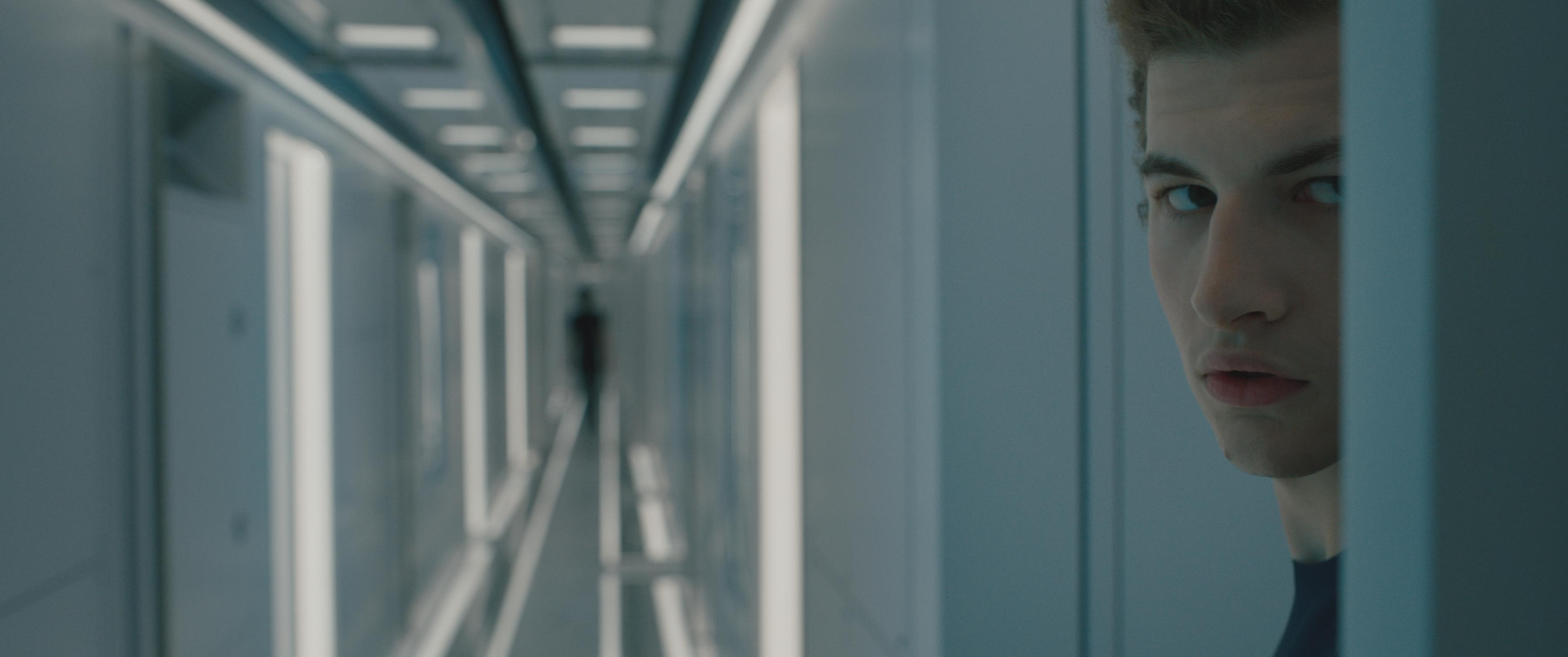 Tye Sheridan in Voyagers (2021)