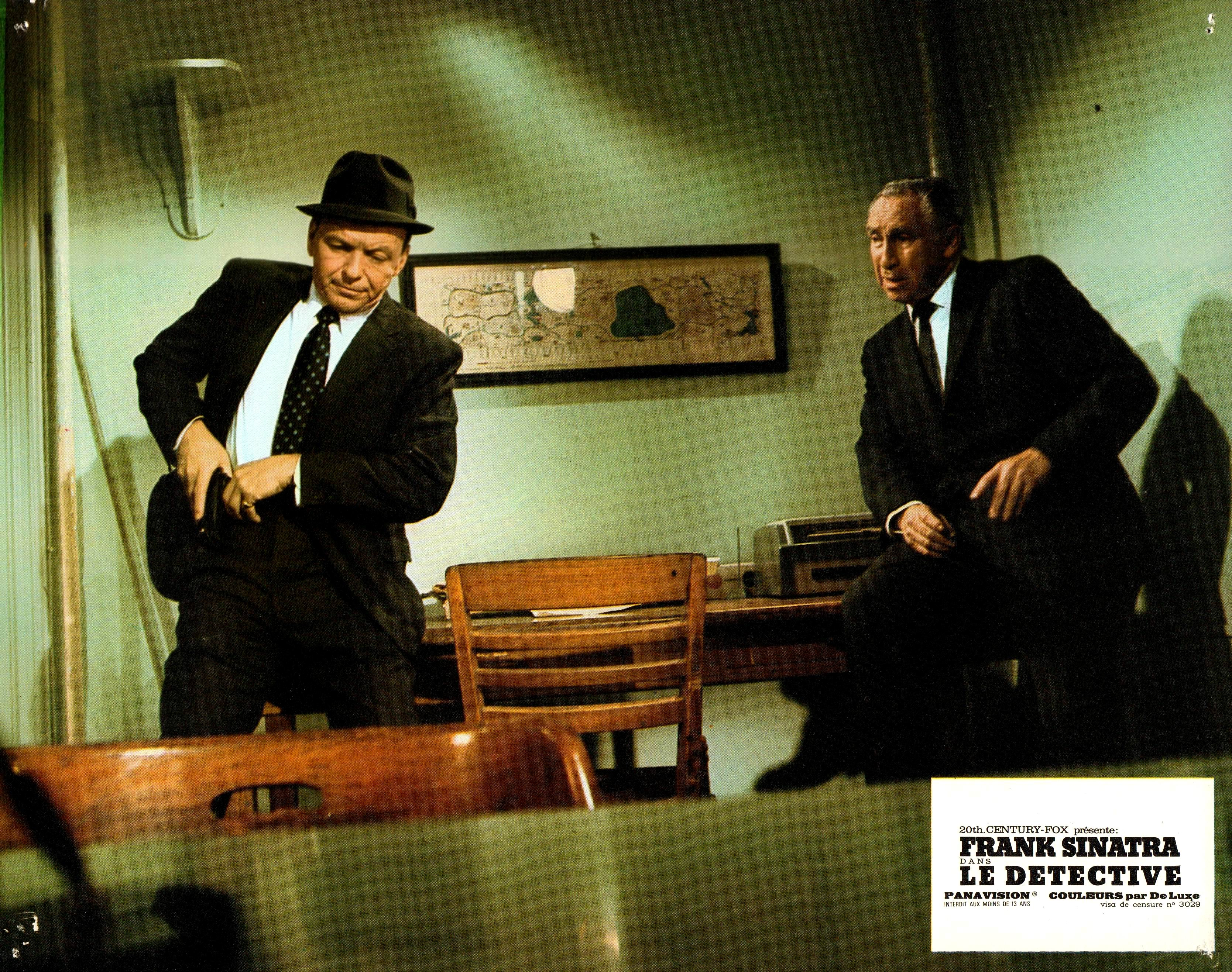 Frank Sinatra and Horace McMahon in The Detective (1968)