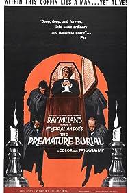 The Premature Burial (1962) Poster - Movie Forum, Cast, Reviews