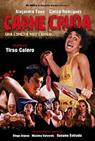 Fernando Albizu, Canco Rodríguez, and Alejandro Tous in Carne cruda (2011)