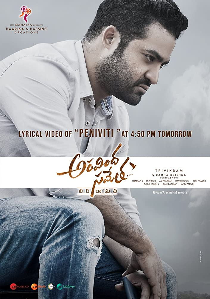 Aravinda Sametha 2018 Dual Audio 550MB HDRip 480p ESubs Download