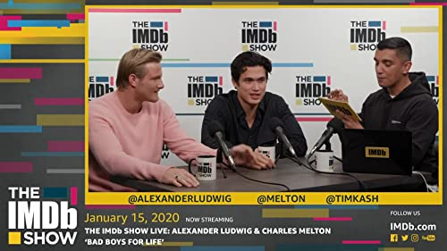 Alexander Ludwig and Charles Melton play 'Bad Boys' Trivia