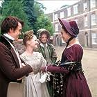 Maggie Smith, Ciarán McMenamin, Joanna Page, and Amanda Ryan in David Copperfield (1999)