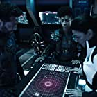 Shohreh Aghdashloo, Cas Anvar, and Dominique Tipper in The Expanse (2015)