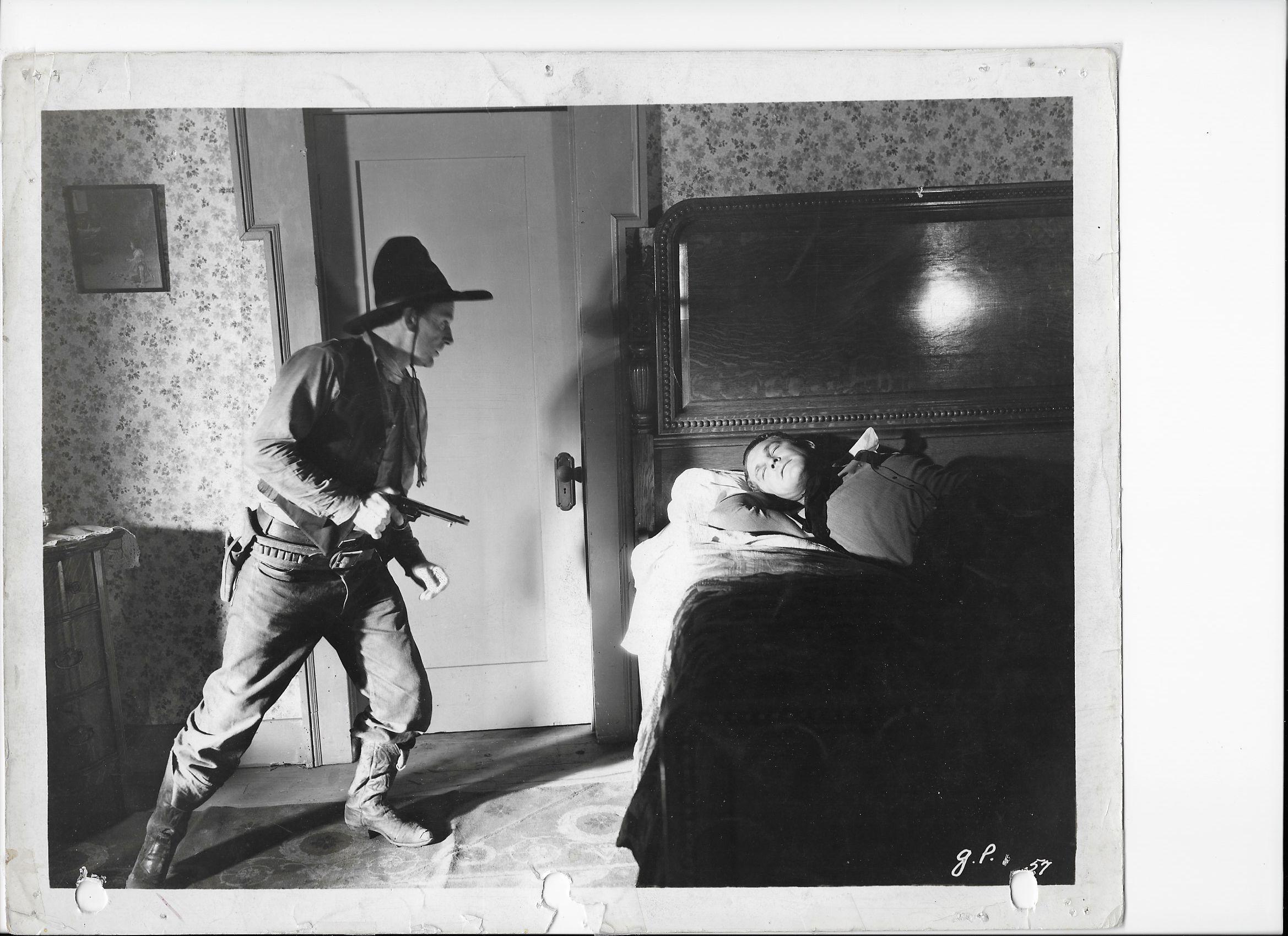 Barney Beasley and Guinn 'Big Boy' Williams in Gun Play (1935)