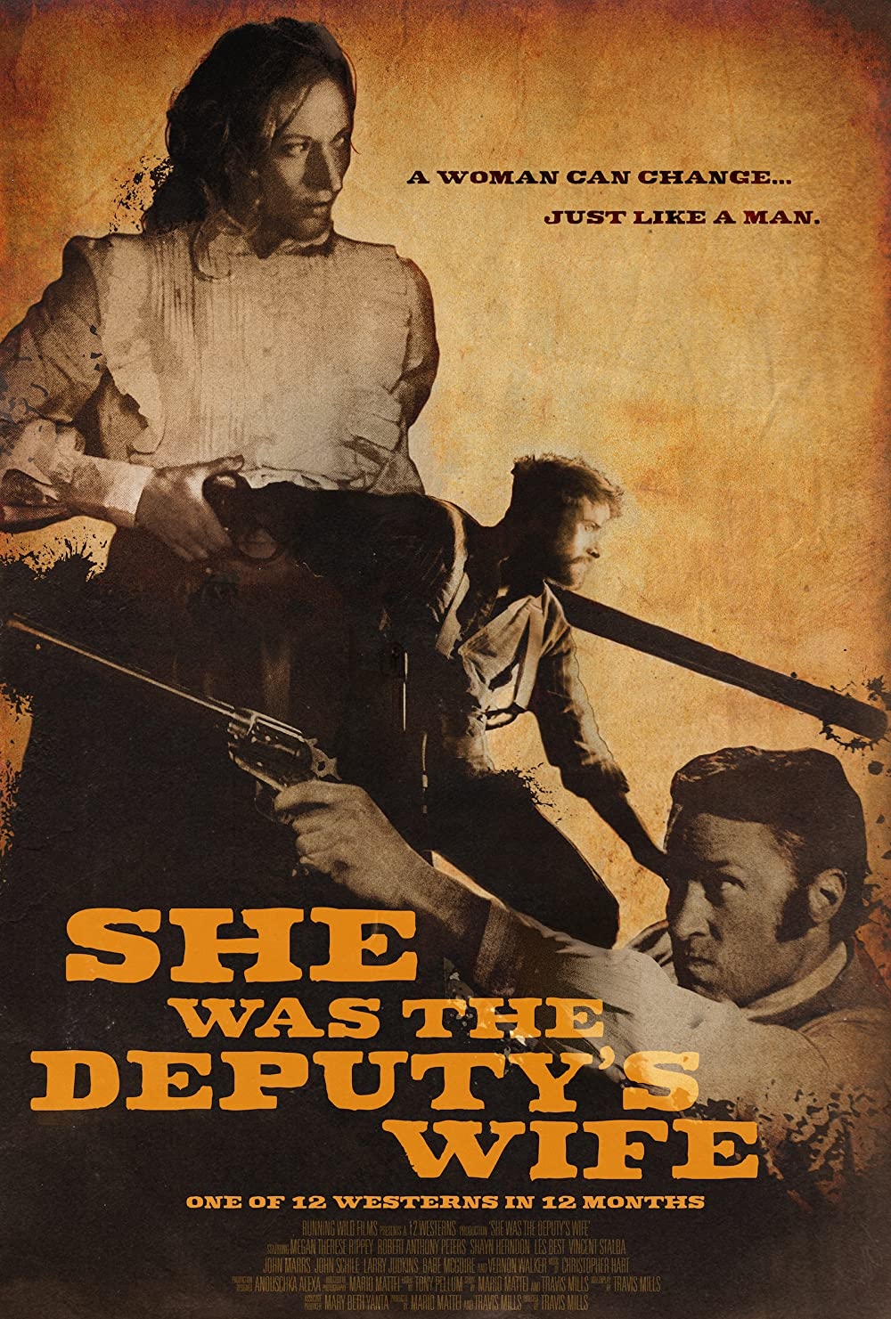 She Was the Deputy's Wife 2021 English 300MB HDRip ESubs Download