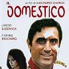 Femi Benussi and Lando Buzzanca in Il domestico (1974)