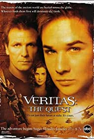 Alex Carter, Ryan Merriman, and Cobie Smulders in Veritas: The Quest (2003)