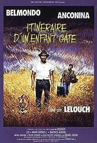 Jean-Paul Belmondo and Richard Anconina in Itinéraire d'un enfant gâté (1988)