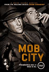 Edward Burns and Jon Bernthal in Mob City (2013)